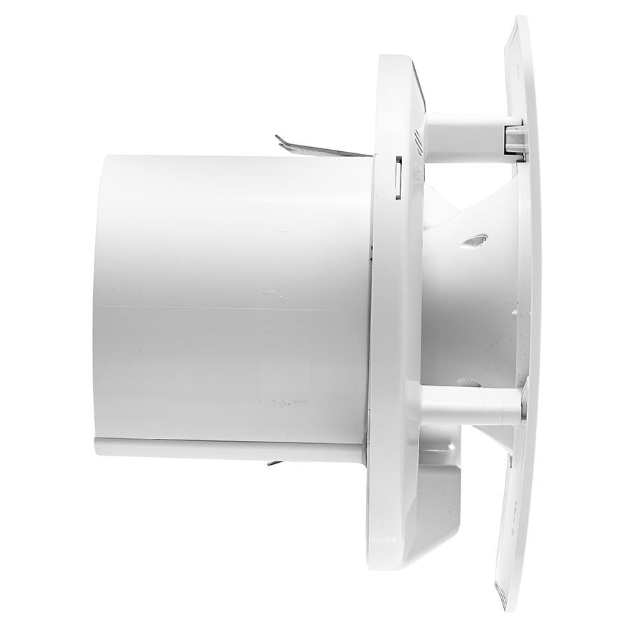 Quiet Bathroom Light Pull Switch: XPELAIR C4TS Simply Silent Contour 4 100mm Square Bathroom